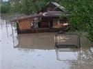Přívalové deště ve Studénce