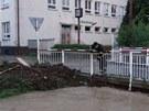 Bleskové záplavy ve Studénce