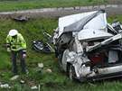 Tragick� nehoda ve Vestci u Prahy (1. kv�tna 2013).