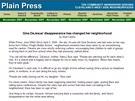"""Článek, který o zmizení Giny DeJesusové psal v roce 2004 Ariel """"Anthony"""""""