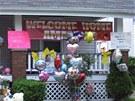 Dům sestry Amandy Berryové, jedné z dívek, která byly pohřešovány deset let.