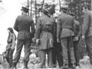 Pietn� akt u Ivan�eny b�val v dob� socialismu pod dohledem policist�, tehdy