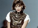 Ines de la Fressange na přehlídce Chanel v roce 1987