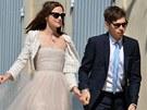 Herečka Keira Knightley a hudebník James Righton si řekli ano 4. května 2013 ve...