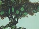 V�clav Sivko: Strom s hodinkami, 1971