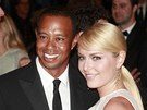 Tiger Woods a Lindsey Vonnová