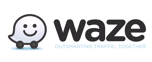 Logo bezplatn&#233; navigace Waze