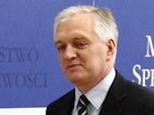 Odvolan� ministr spravedlnosti Jaroslaw Gowin (29. dubna 2013)