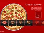 Aplikace spolenosti Pizza Hut umon&#237; prostednictv&#237;m konzole objedn&#225;vat pizzu.