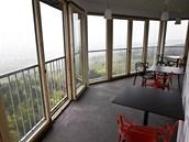 Na vrchu Kaňk u Kutné Hory stojí nová rozhledna Havířská bouda.