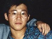 Kenneth Bae (vpravo) se spolužákem Bobbym Lee v roce 1988 na univerzitě v