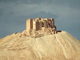 Citadela u historického města Palmýra.