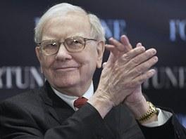 Už o mně doma nemohou říkat, že jsem z 19. století, komentoval Warren Buffet