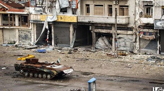 Občanská válka v Sýrii trvá už dva roky a vyžádala si až 80 tisíc mrtvých (10.