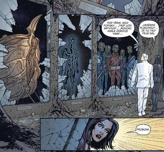 Ukázka z komiksu Planetary 1: Do všech koutů světa a jiné povídky