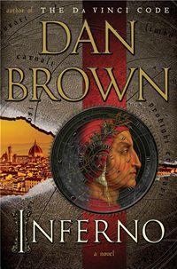 Obálka anglického vydání románu Dana Browna Inferno