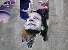 Plakáty Imrana Chána v Pákistánu (11. května 2013)