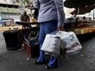 ZVÍTĚZILA JSEM. Venezuelská žena, které se v obchodech podařilo ukořistit