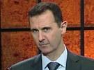 Syrský prezident Bašár Asad na archivním snímku
