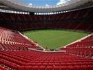 Fotbalový stadion Mane Garrinchy v Brasílii (12. května 2013)