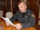 Karvinský strážník, který v lednu střílel na benzinové stanici. (13. května
