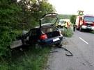 Tragická nehoda u Velkých Pavlovic, při které zahynuli dva mladí muži. (15.