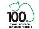 Návrh loga k oslavám 100. výročí narození spisovatele Bohumila Hrabala
