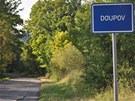 Vjezd do zaniklého města Doupova