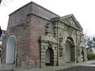Terezská brána, cenná památka a pozůstatek olomouckého barokního opevnění.