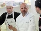 Zdeněk Pohlreich se se svým týmem vrátil do brněnské restaurace Bohéma, která