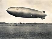 Hindenburg na pohlednici 19.8.1936.