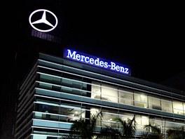 Zastoupení firmy Mercedes v  Bengalúru