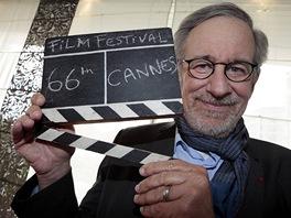 Předseda poroty Steven Spielberg před zahájením 66. ročníku filmového festivalu