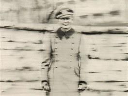 Německý výtvarník Gerhard Richter věnoval obraz Strýček Rudi do sbírky