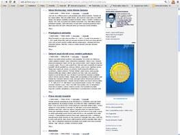 Toto si čtenáři Koudelkova blogu mohli přečíst ještě 20. ledna...
