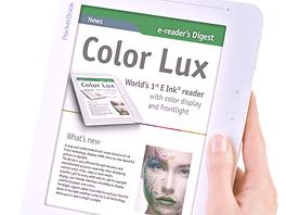 PocketBook Color Lux - první čtečka elektronických knih s barevným e-ink