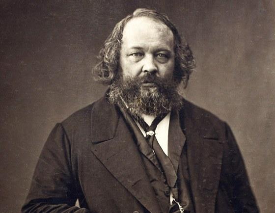 Michail Alexandrovič Bakunin (1814-1876), ruský revolucionář, ideolog