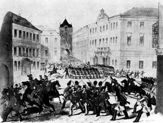 Revoluční rok 1848 v Praze