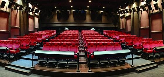 Sedadla ve 4D kině