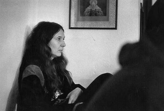 Jana Soukupov� na fotografii z konce 90. let
