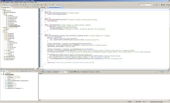 Programování pro operační systém Android