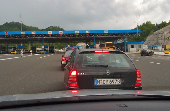 Slovinsko - chorvatská hranice