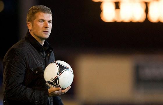 Luboš Prokopec už tuší, že hradecké fotbalisty v první lize neudrží.