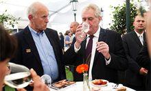 Prezident Miloš Zeman v pondělí 20. května na Žofínském fóru