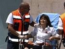 Zásah izraelských policistů u banky v Beerševě (20. května 2013)