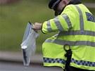 Britská policie na místě krvavého útoku ve Woolwichi (22. května)