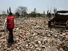 Před násilnostmi mezi muslimskými Rohingy a buddhistickými Rakhiny tady stávala
