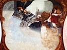 Fresky v S�zavsk�m kl�te�e.
