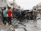Nálože v autech explodovaly v šíitských čtvrtích Bagdádu a v jižním přístavním