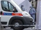 Na místě nyní operují forenzní specialisté (22. května)